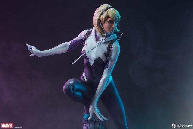 Spider-Gwen Sideshow Spider-Gwen Statue