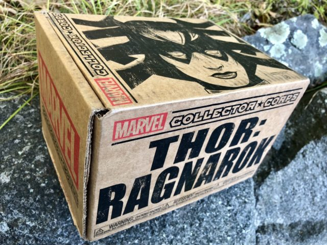 Funko Thor Ragnarok Collector Corps Box Review Spoilers Unboxing Photos