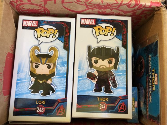 Funko Thor Ragnarok Box Exclusive POP Vinyls