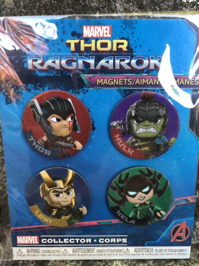 Thor Ragnarok Collector Corps Magnets Set