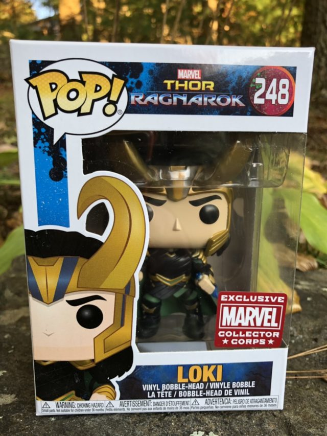 Marvel Collector Corps Loki POP Vinyl Exclusive Ragnarok