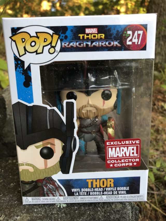 Funko Gladiator Thor POP Vinyl Box