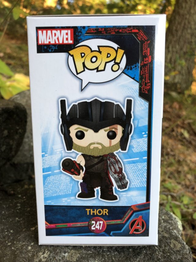 Gladiator Thor Funko POP Vinyl Box Side Art