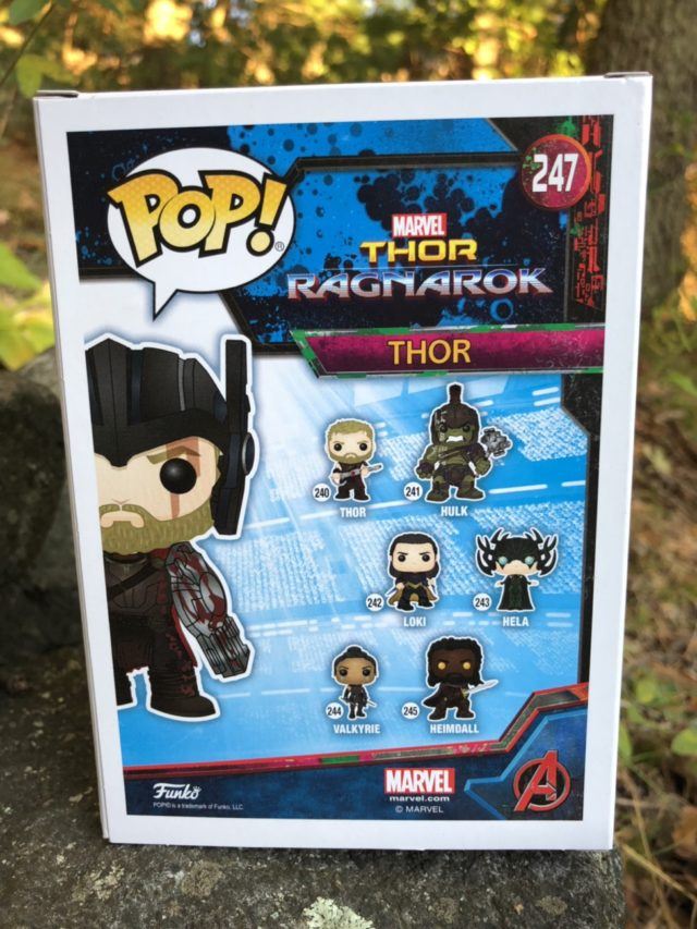 Funko Marvel POP Vinyl #247 Gladiator Thor Exclusive