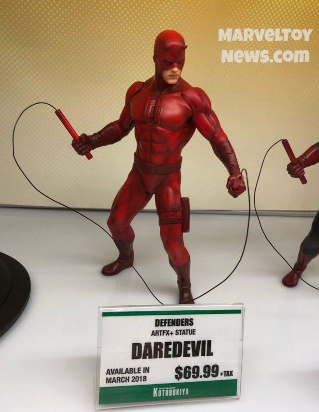 Kotobukiya Red Daredevil ARTFX+ Statue NYCC 2017