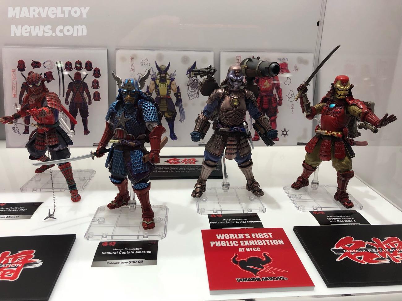 Afbeeldingsresultaat voor marvel samurai figures
