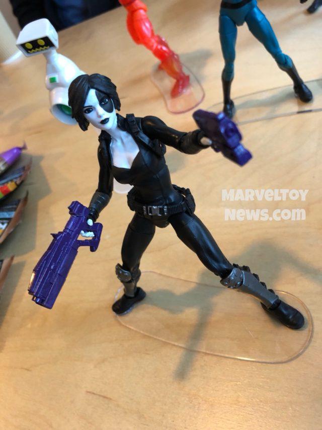 Deadpool Marvel Legends Domino Figure NYCC 2017