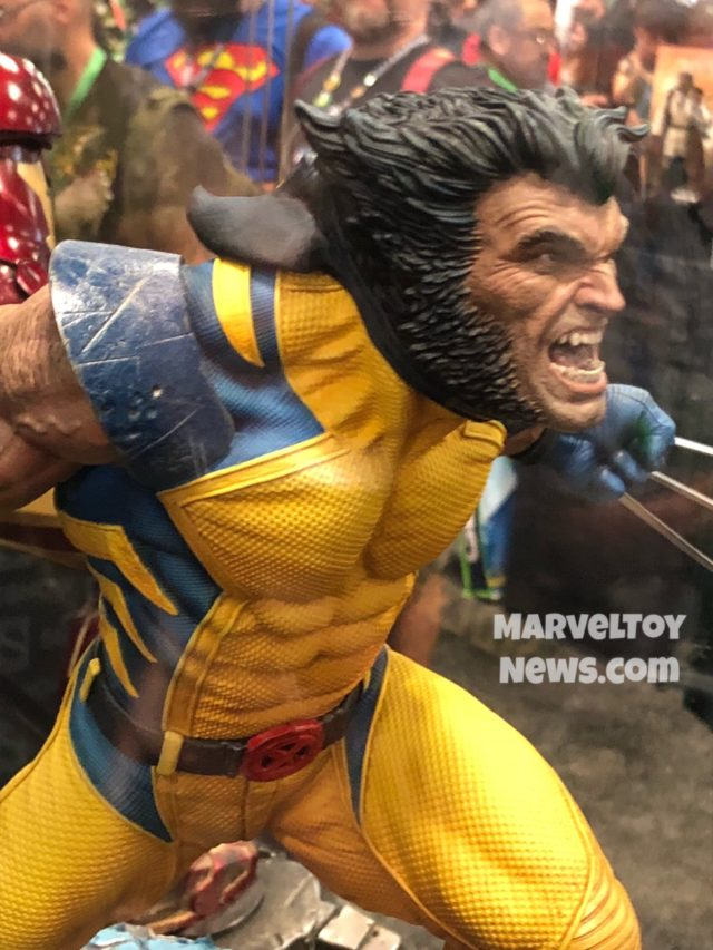New York Comic Con 2017 Wolverine Statue Sideshow Collectibles