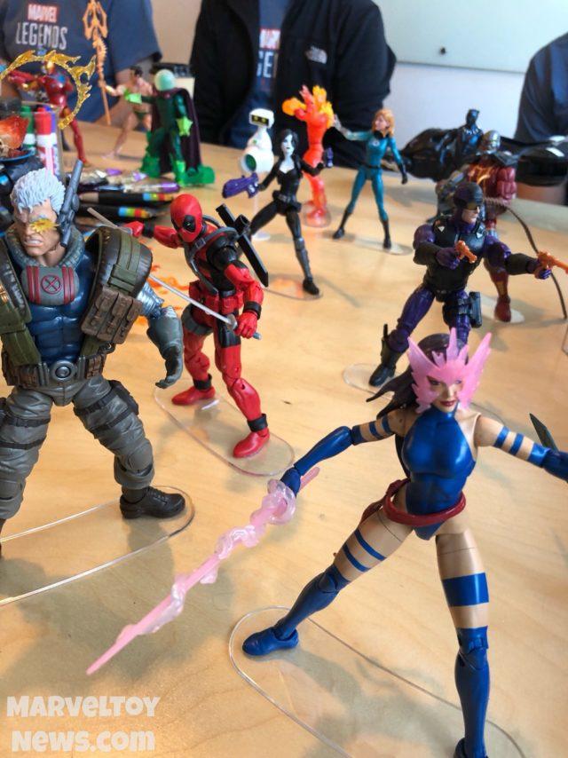 2018 Marvel Legends Figures at NYCC 2017