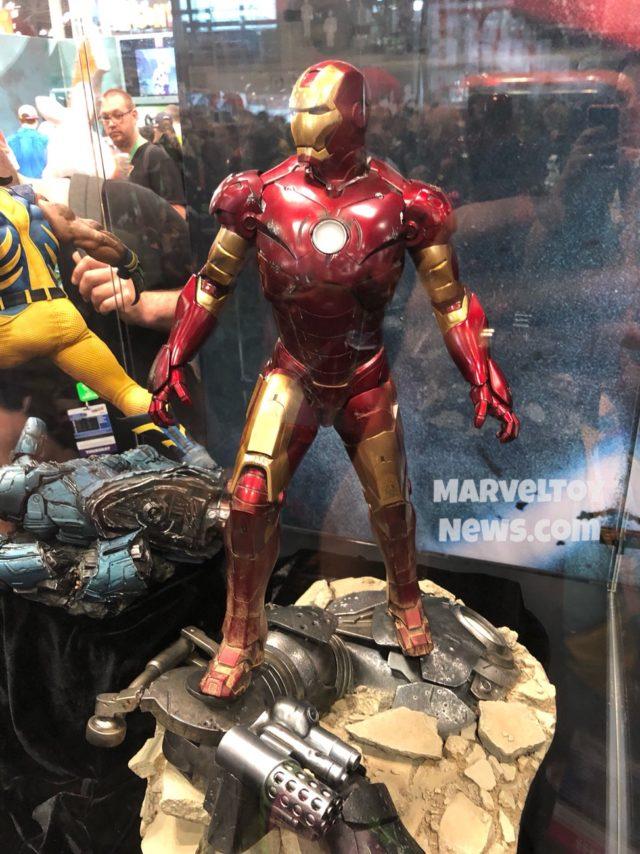 NYCC 2017 Iron Man Mark III Maquette Statue