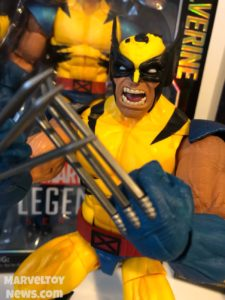 "Close-Up of Wolverine Marvel Legends 12"" Figure"