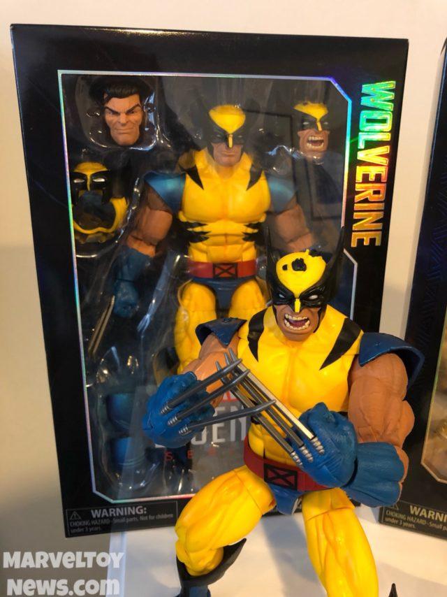 """2018 Marvel Legends 12"""" Wolverine Figure Packaged"""