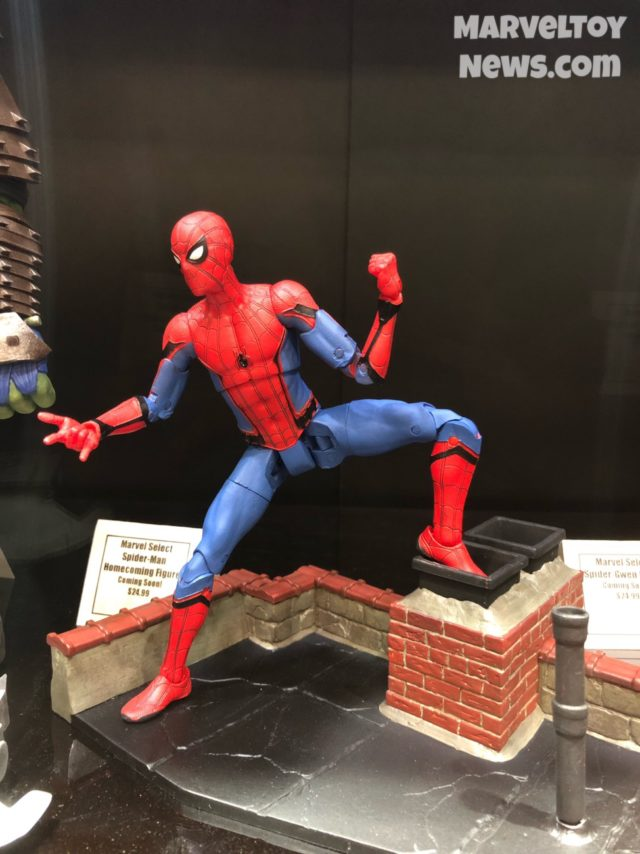 Marvel Select Spider-Man Homecoming Figure New York Comic Con