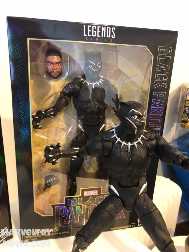 """12"""" Marvel Legends Black Panther Movie Figure Packaged"""