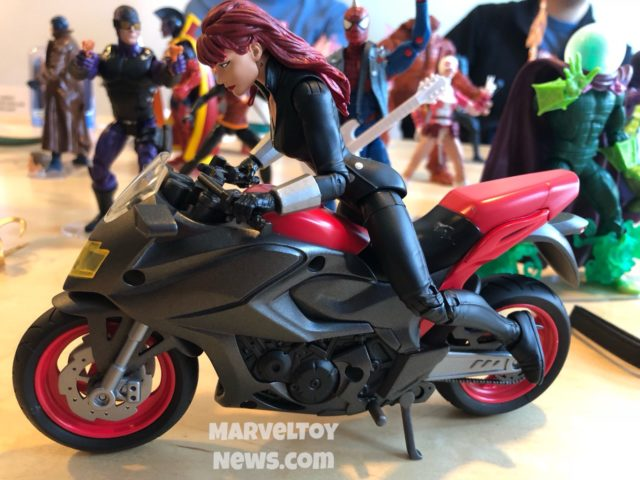 Marvel Legends Riders Black Widow Motorcycle at New York Comic Con
