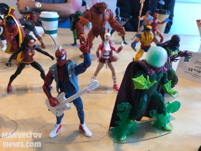 Spider-Man Legends 2018 Figures Spider-Punk Mysterio Gwenpool