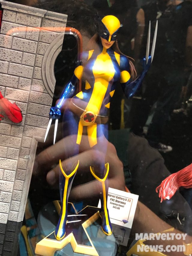 Marvel Gallery Wolverine X-23 Statue New York Comic Con 2017