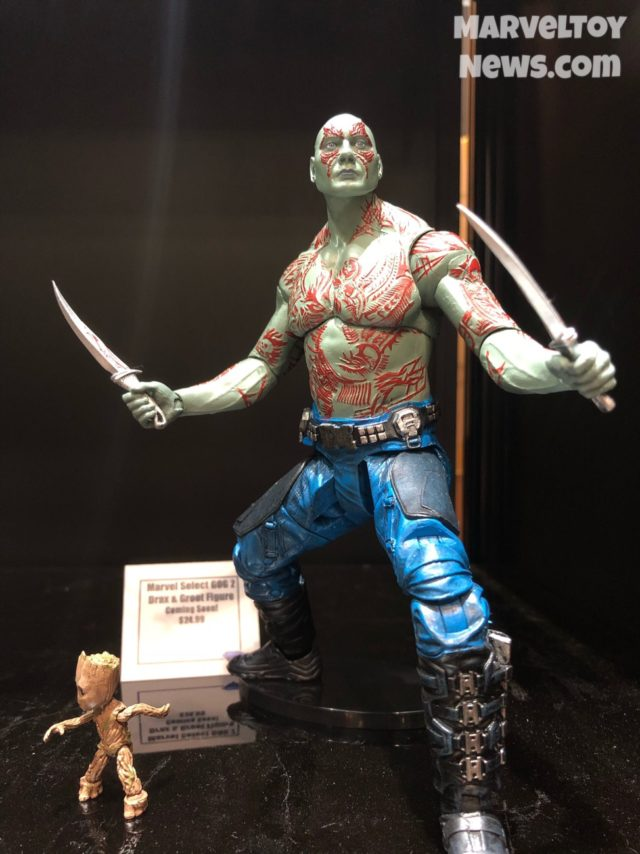 NYCC 2017 Marvel Select Drax and Baby groot