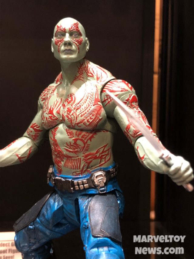 Marvel Select Drax Action Figure at NYCC 2017