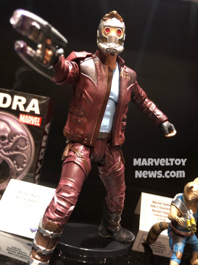 Marvel Select Star-Lord Movie Figure at NYCC 2017