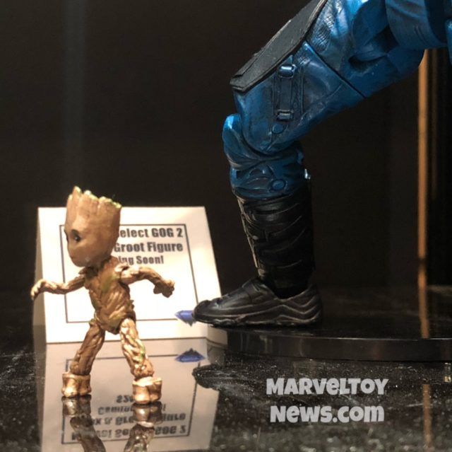 New York Comic Con 2017 Marvel Select Baby Groot Figure