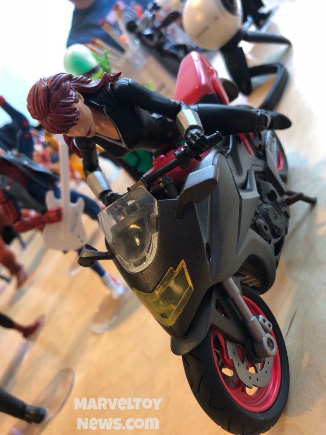 Black Widow Marvel Legends Motorcycle NYCC 2017