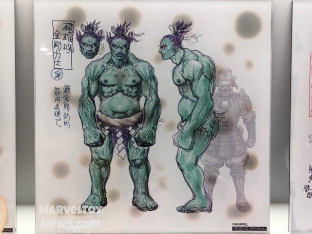 NYCC 2017 Bandai Ogre Hulk Manga Realization Figure