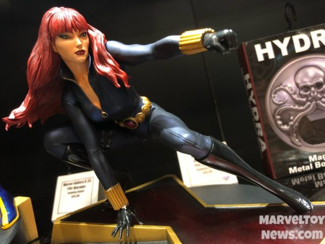 Black Widow Marvel Gallery Statue PVC Figure NYCC 2017
