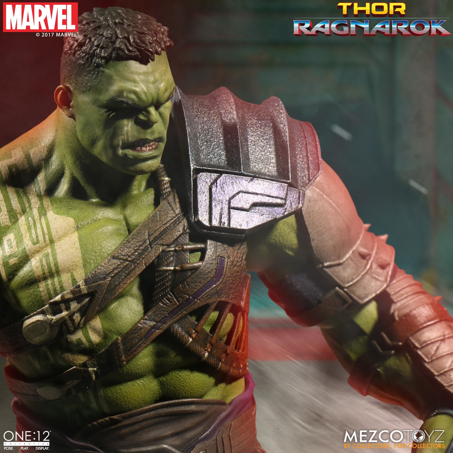 In Hand! Mezco Toyz 1//12 One 12 Collective Marvel Thor Ragnarok Gladiator Hulk