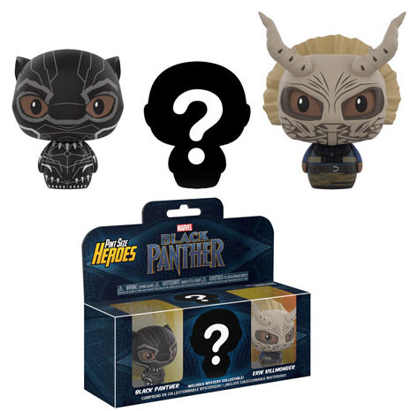 Funko Black Panther Pint-Size Heroes 3-Pack