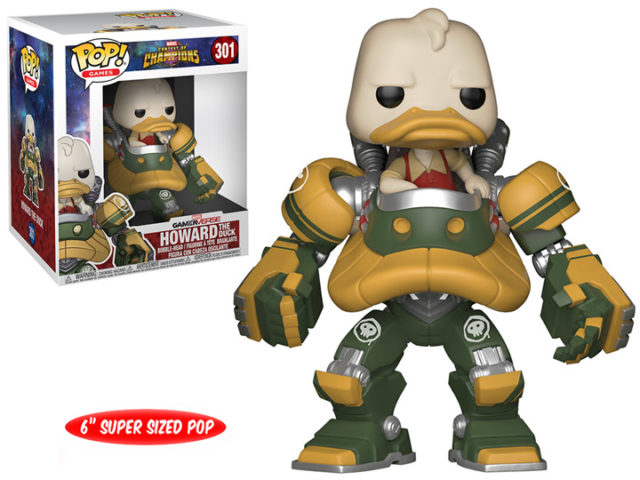 Funko Contest of Champions Howard the Duck Mech POP Vinyl