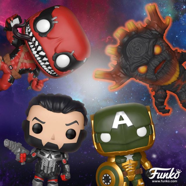 Funko Exclusive Contest of Champions Figures