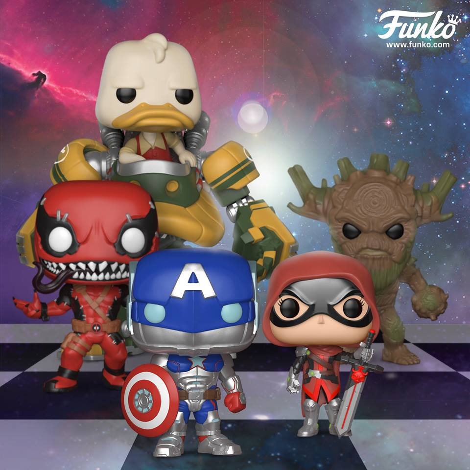 Funko Marvel Contest Of Champions Pop Vinyls Figures