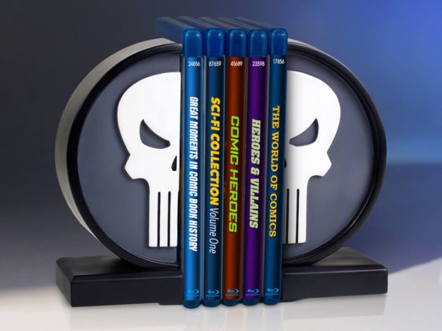 Gentle Giant Punisher Logo Bookends
