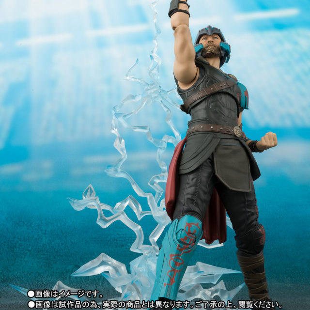 Gladiator Thor Figuarts Figure With Lightning Effects Pieces