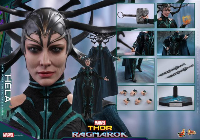 Hot Toys Hela Figure and Accessories