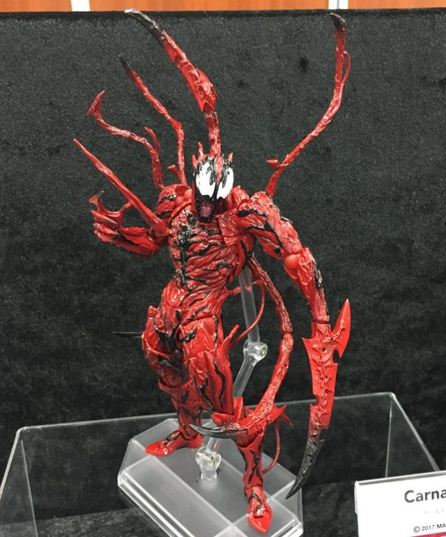 Kaiyodo Revoltech Carnage Figure Revealed
