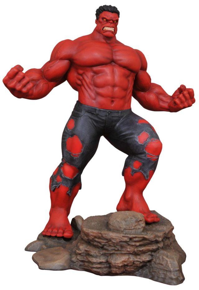 Marvel Gallery Red Hulk Statue Exclusive Gamestop Think Geek