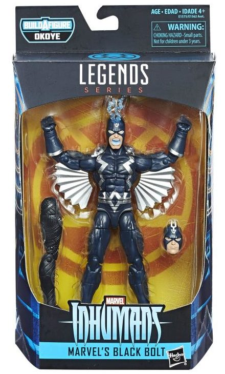 Marvel Legends Black Bolt 2018 Figure Packaged