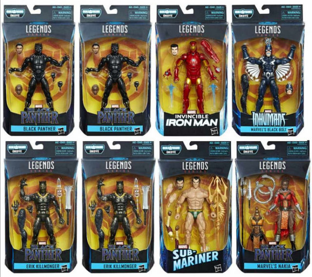 Marvel Legends Black Panther Series Case Ratios