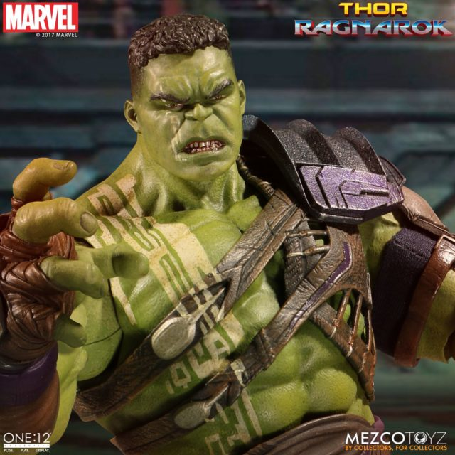 Mezco Gladiator Hulk Head without Helmet
