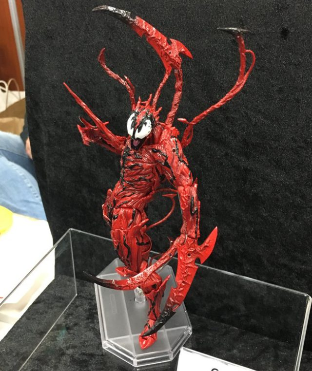 Miyazawa Model Exhibition Fall 2017 Revoltech Carnage Revealed