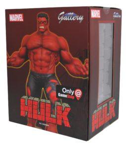Red Hulk Gamestop Exclusive Marvel Gallery PVC Figure