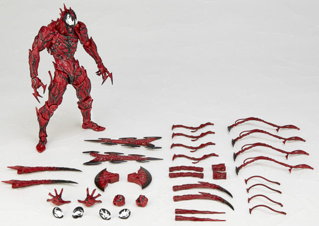 SH Figuarts Carnage Figure and Accessories