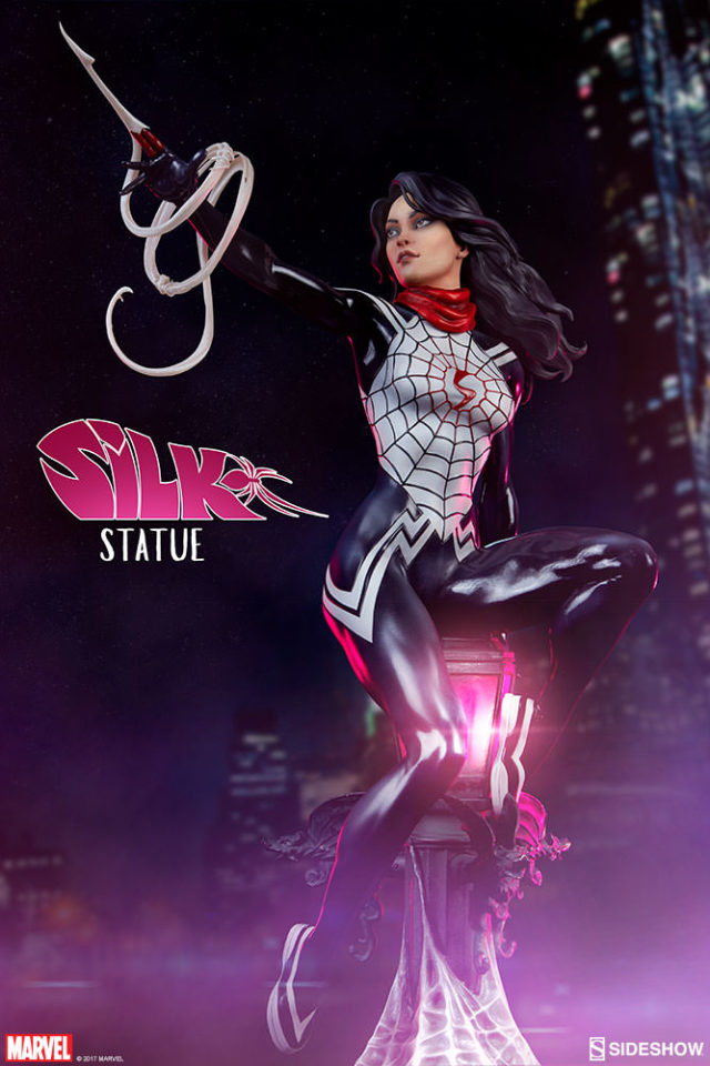 Sideshow Collectibles Silk Statue Spider-Verse