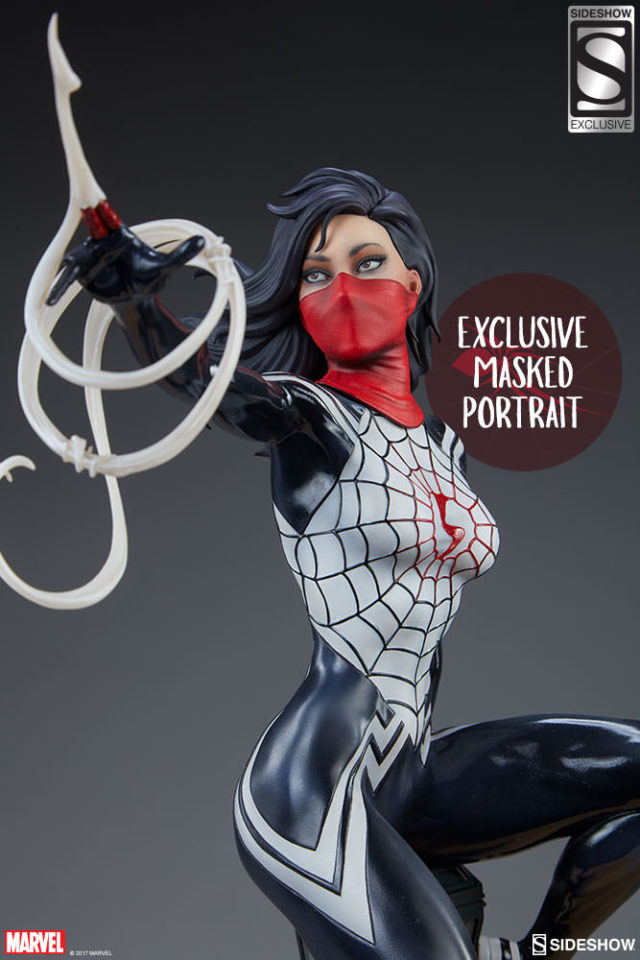 Sideshow Exclusive Masked Silk Statue