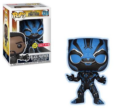 Target Exclusive Glow Black Panther POP Vinyls Figure