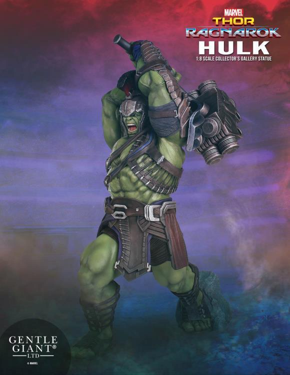 Thor Ragnarok Gentle Giant Gladiator Hulk Collector's Gallery Statue Poster