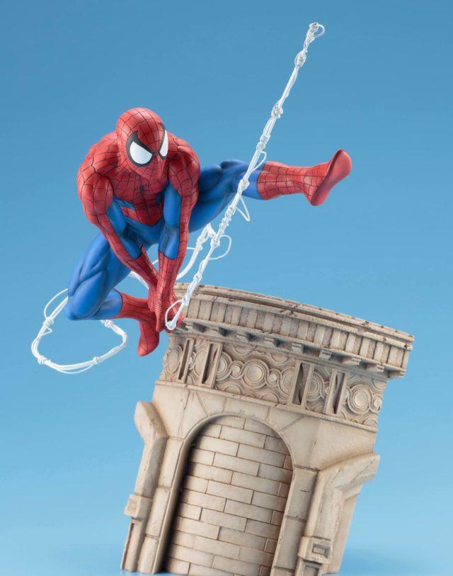 Webslinger Spider-Man Kotobukiya Statue