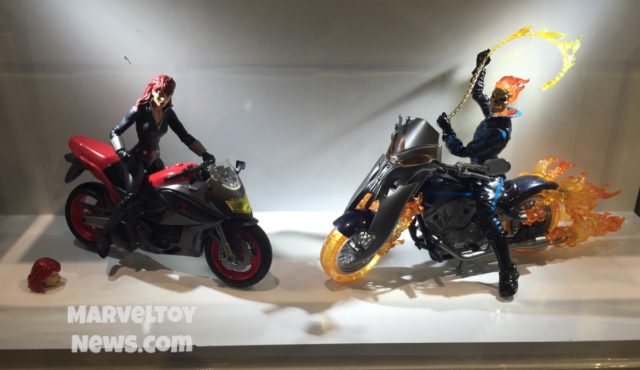 Hascon 2017 Marvel Legends Black Widow and Ghost Rider